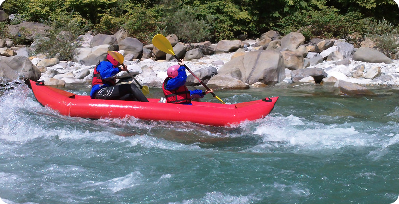 Canoa Gonfiabile Valsesia e Val Chisone