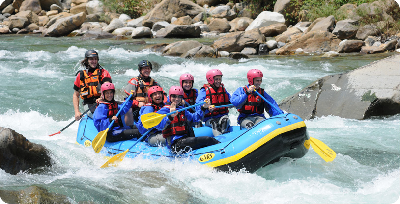 Rafting a Torino in Val Chisone